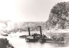 Steam Boats, Tug Boats, Steamers, Paddle