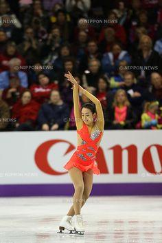 Mao Asada (JPN), .March 14, 2013 - Figure Skating : .ISU World Figure Skating Championships 2013, Women's Short Program .at Budweiser Gardens, London, Canada. .(Photo by Daiju Kitamura/AFLO SPORT) [1045]