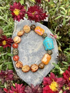 Excited to share this item from my #etsy shop: Buddha Bracelet. Women's Bracelet. Gift For Her. Yoga. Meditation. Spiritual jewelry #luck #unisexadults #bohohippie #blue #orange #meditation #yoga #bohobracelet #bohemian #buddhajewelry #buddhabracelet #buddha Buddha Jewelry, Spiritual Jewelry, Hippie Boho, Bohemian, Yoga Meditation, Blue Orange, Gifts For Her, Etsy Shop, Inspired