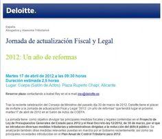 Jornada de actualización Fiscal y Legal, (17 de Abril)