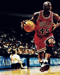Micheal Jordan in action