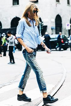 The Who What Wear Striped Shirts Photo Directory via @WhoWhatWearUK