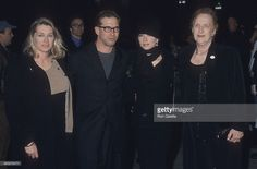 Actor Stephen Baldwin, wife Kennya, his sister Elizabeth Keuchler and his mother Carol attend 'I Dreamed of Africa' New York City Premiere on April 18, 2000 at Sony Theatres Lincoln Square in New York City.