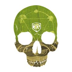 Landskull crop circle (by Crane, Crop Circles, Skull, Sugar, Skulls, Sugar Skull