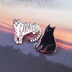 Two new things in the shop. ✨ I hear enamel pins are going to be big this year.