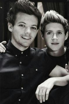 Louis Tomlinson and Niall Horan!