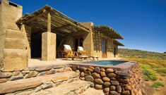 Tankwa Karoo Elandsberg cottages SANparks - beautifully designed
