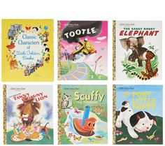 Classic Characters of Little Golden Books Boxed Set