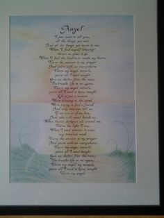 The song Angel by Lionel Richie I drew for an engagement pressie