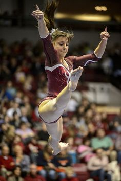 Crimson Tide Gymnastics M06 vs AU  #KyFun