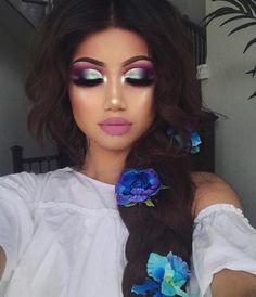 "150.6k Likes, 480 Comments - Huda Kattan (@hudabeauty) on Instagram: ""Gorgeous @makeupbyalinna #hudabeauty3dhighlight @shophudabeauty"""
