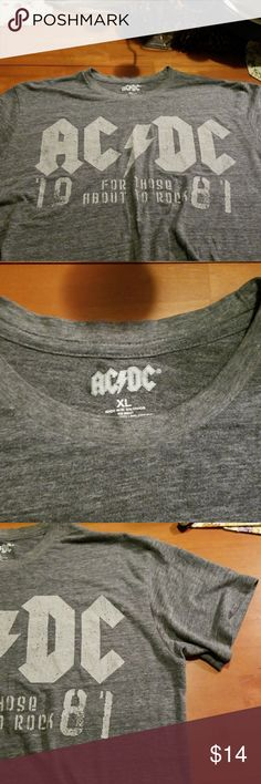 🔥Band T🔥 LIKE NEW XL like new band t shirt ac/dc Shirts Tees - Short Sleeve