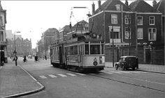 1956 - Elandstraat gezien richting Waldeck Pyrmontkade.
