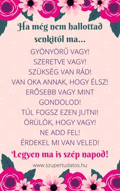 Ragyogó Tudatosság, Pozitív gondolatok, Siker, Motiváció, Boldogság, Szeretet,Idézetek Cute Words, Staying Alive, Love Life, Positive Vibes, Healthy Life, Motivational Quotes, Self, Spirit, Wisdom