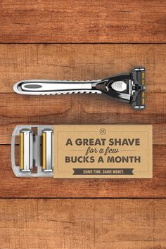 Think of it like the Shave of the Month Club. Dollar Shave Club delivers amazing razors and grooming products. Get a gift card to Dollar Shave Club today.