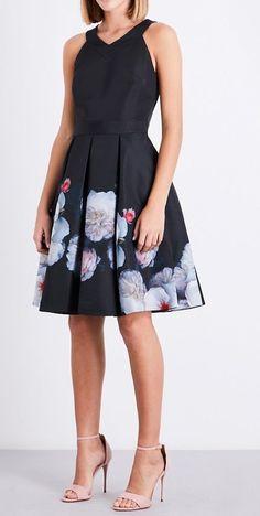 BNWT Girls Sz 6 Bubble Hem Sleeveless Pretty Daisy Print Fully Lined Party Dress