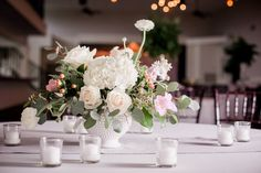Flowers And Hand Painted Signs - Wedding Planning Ideas By WeddingFanatic