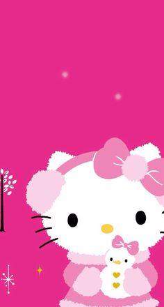 ❤️ Hello Kitty Art, Hello Kitty Items, Sanrio Hello Kitty, Kitty Cam, Hello Kitty Christmas, Hello Kitty Birthday, Christmas Cats, Pink Christmas, Hello Kitty Pictures