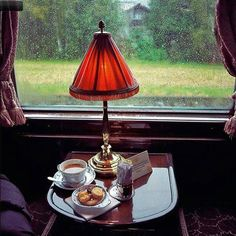 How about a cuppa on the Orient Express?