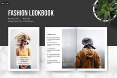 Ad: Photography by Template Shop on InDesign portfolio brochure fit for fashion, photography, lifestyle, beauty salon, pretty much multipurpose industry. All object is in Creative Brochure, Brochure Design, Brochure Template, Photography Brochure, Ad Photography, Photography Magazine, Fashion Photography, Indesign Portfolio, Company Profile Template