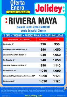 Ofeta Enero - Riviera Maya desde 790€ Tax incluidas. Salidas Lunes 6, 13, 20 y 27 ultimo minuto - http://zocotours.com/ofeta-enero-riviera-maya-desde-790e-tax-incluidas-salidas-lunes-6-13-20-y-27-ultimo-minuto/