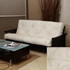 @Overstock - Upgrade your futon and create a comfortable sleeping space for guests with this cozy full-size futon mattress. The mattress is made with ultra-soft cotton and foam and features a stylish, damask-inspired finish that adds style to any room.http://www.overstock.com/Home-Garden/Beige-Damask-Full-Size-12-inch-Futon-Mattress/6787719/product.html?CID=214117 $224.99