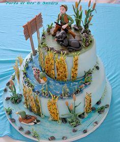 Duck Hunting Grooms Cake Cakes Pinterest Hunting grooms cake