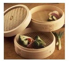 Joyce Chen 26-0012,3-Piece Bamboo Steamer,12-Inch: Amazon.com: Home & Kitchen -