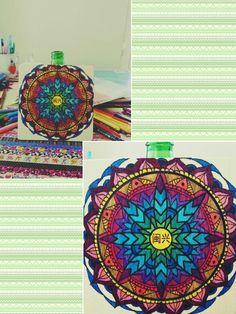 Mandala painting #mandala #design #colourfull #painting