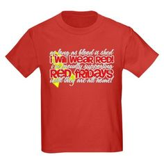 5545339d 31 Best Red Shirt Friday images | Red shirt, Red friday, Remember ...