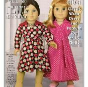Sewing: L&P 1031 - 18' Doll Wrap Dress and Top