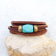 Men, women leather bracelet
