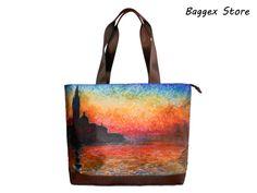 Messenger Bag Camille Monet On The Beach at Trouville by Claude Monet Laptop