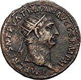 TRAJAN 101AD Big Rare Authentic Ancient Roman Coin Abundantia Prosperity i57380 Ancient Roman Coins, Ancient Romans, Stamp, History, Ruler, Big, Coins, Historia, Stamps