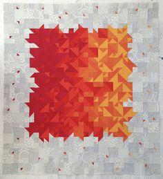 Love this quilt by charlottenarunsky (on flickr)!