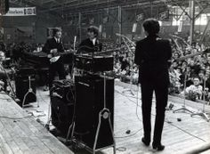 June 7th, 1964. The Beatles at Blokker, The Netherlands. #amsterdam #1964 #TheBeatles