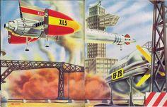 Vintage Fireball XL5 artwork