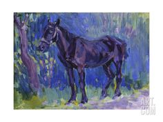 Study for Sussex Farm Horse, C. 1904-6 Giclee Print by Robert Polhill Bevan at Art.com