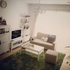 モモナチュラル/ラグ 緑/momo natural/Loungeのインテリア実例 - 2014-01-15 05:09:57 | RoomClip(ルームクリップ)