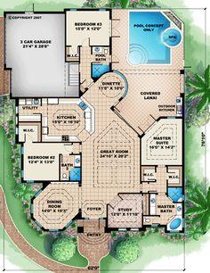 Fresh Prince Of Bel Air House Floor Plan : fresh, prince, house, floor, Contemporary, House, Layouts, Ideas, Design,, House,, Architecture