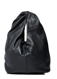 JW ANDERSON Women'S Twisted Leather Hobo Bag In Black. #jwanderson #bags #shoulder bags #hand bags #leather #hobo #