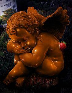 sweet chocolate angel Chocolate Angel, Chocolate World, Chocolate Dreams, Chocolate Delight, I Love Chocolate, Chocolate Heaven, Chocolate Art, Chocolate Desserts, Chocolate Thunder