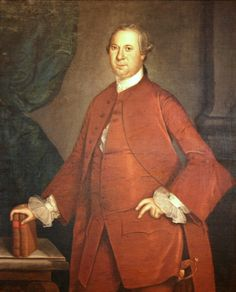 Daniel of St. Thomas Jenifer by John Hesselius...Signer of The Constitution