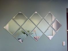 Contemporary Decor charming suggestion 2284138100 - From amazing to contemporary contemporary decorating tricks to arrange a super satisfying and lovely space. Ikea Mirror, Wall Mirrors Set, Living Room Mirrors, Diy Mirror, Living Room Decor, Spiegel Design, Deco Studio, Stick On Mirror, Contemporary Home Decor