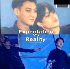 That's expected. Kai and D.O would never want to be seperated. KaiSoo all the way!! Lol