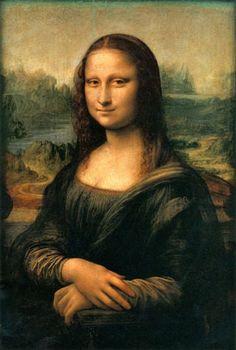 Slice Up Your Face (Again) : 10 Steps - Instructables Real Mona Lisa, Mona Lisa Smile, Portrait Au Crayon, Most Expensive Painting, La Madone, Mona Lisa Parody, Art Graphique, Painting Edges, Woman Painting