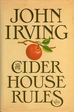 "john irving cider house rules - ""It´s natural to want someone you love to do what you want, or what you think would be good for them, but you have to let everything happen to them. You can't interfere with people you love any more than you're supposed to interfere with people you don't even know. And that's hard, ..., because you often feel like interfering -you want to be the one who makes the plans."" ― John Irving, The Cider House Rules"