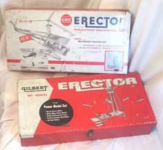 "Erector Set had to sneak around to play with this ""boys"" toy"