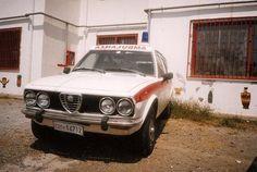 Alfetta Ambulanza (Carrozzeria Grazia)