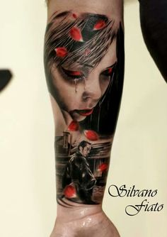 Love the Black and Grey and Red in this one